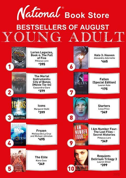 philippine bestseller august
