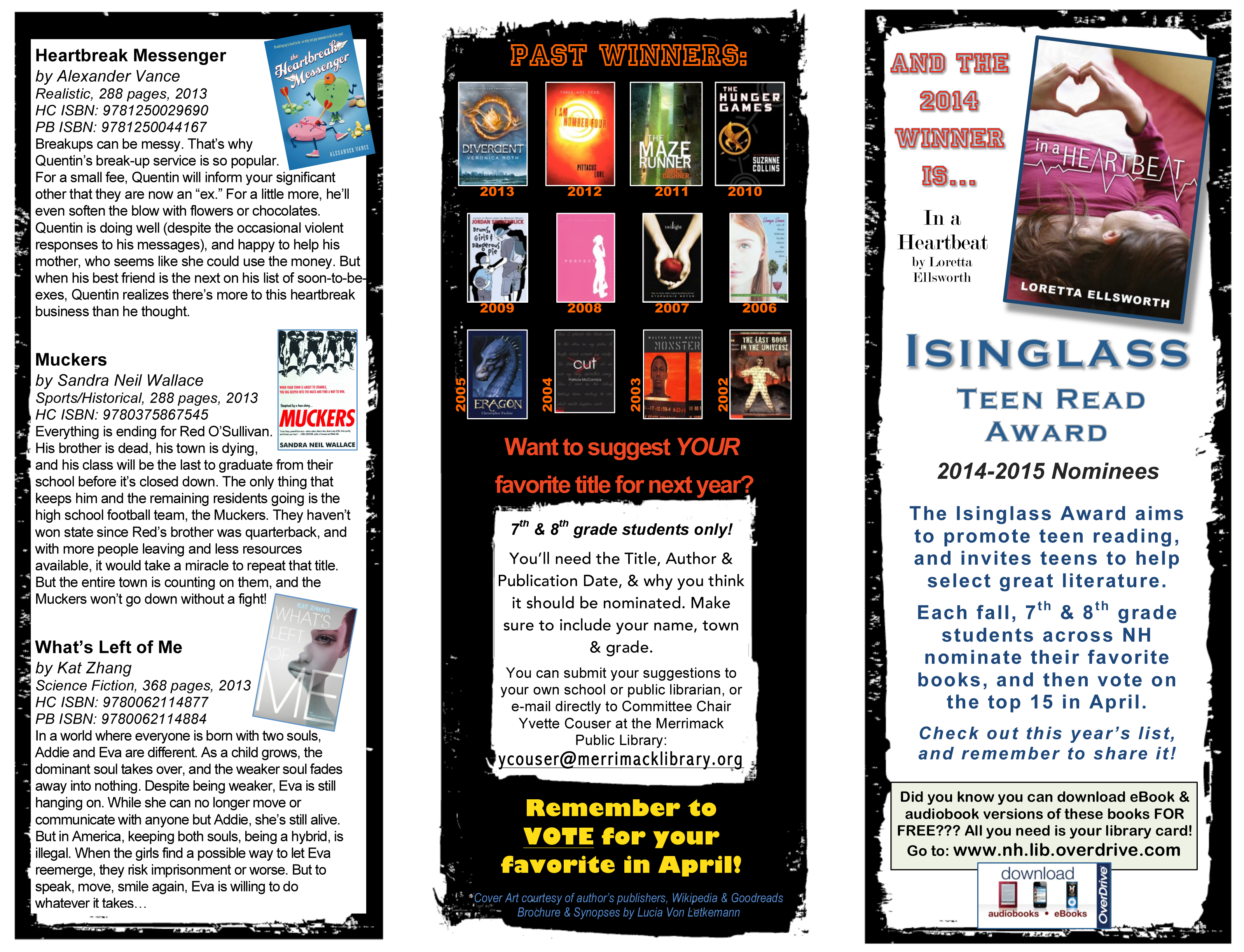 Isinglass Brochure 2014-15