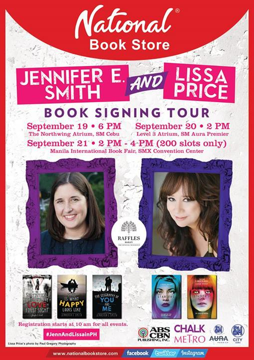 Book signing tour