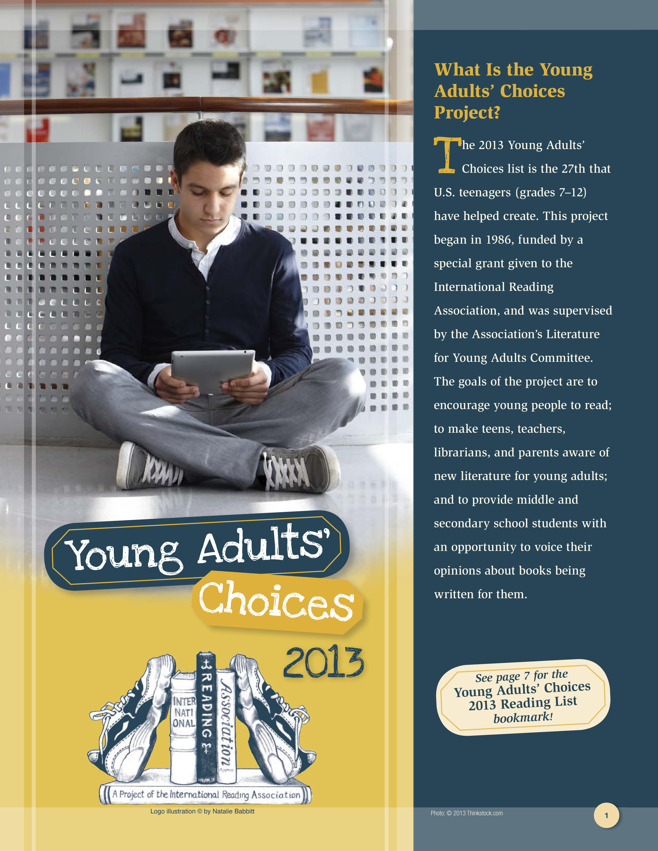 Young Adults' Choices Reading List - 2013