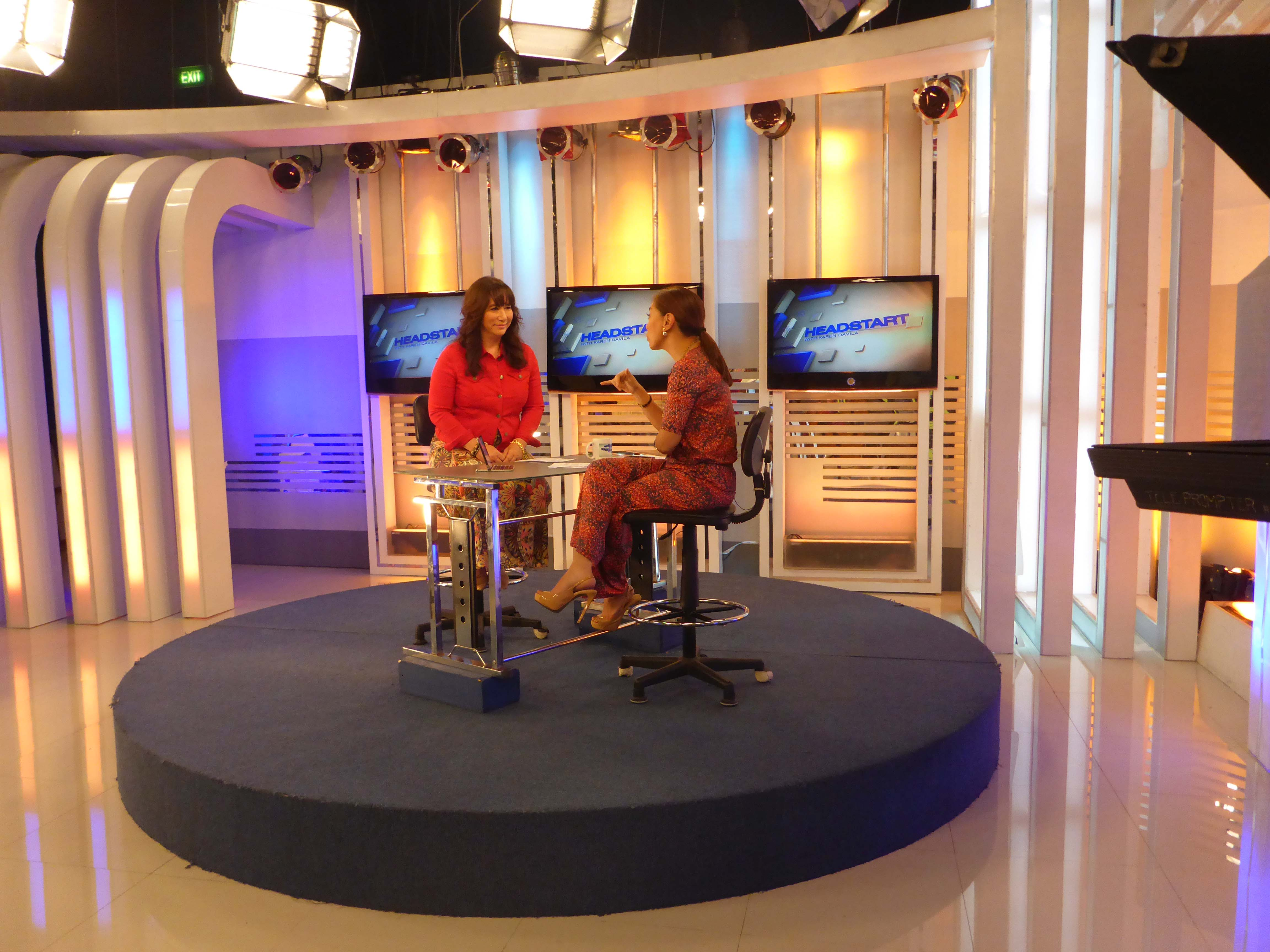 Television interview 2